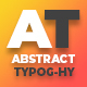 Abstract Typography Pack V2