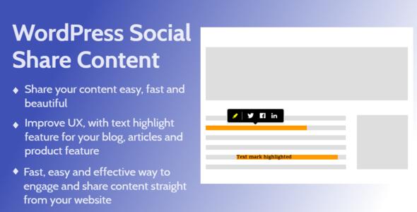 wordpress social share sontent cover