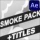 Download Smoke Elements And Titles | Premiere Pro MOGRT