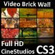 Video Brick Wall