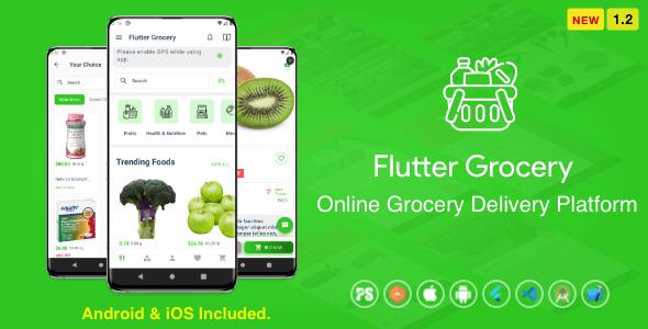 flutter grocery