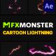 Cartoon Lightning Elements | After Effects