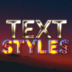 Text Styles || After Effects