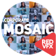 Mosaic Photo Reveal | Corporate Logo