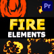 Cartoon Fire Pack   Premiere Pro MOGRT