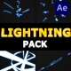 Cartoon Lightning Pack | After Effects