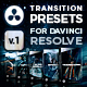 FX Presets Bundle for DaVinci Resolve | Transitions, Effects, VHS, SFX