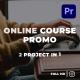 Online Course Promo