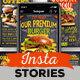 Download Blackboard Burger Menu Instagram Stories – Videohive