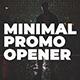 Minimal Promo Opener
