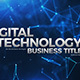 Digital Technology Business Titles