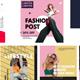 Fashion serif post instagram