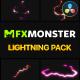 Cartoon Lightning Elements | DaVinci Resolve
