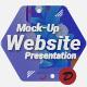 Mock-Up Website Presentation