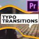Typo Transitions