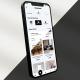 Simplicity - Minimalistic Mobile App Promo 3D Mockup