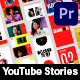 Youtube Channel Stories Pack