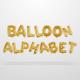 Ballons Alphabet