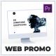 Dynamic Website Promo - Desktop Mockup