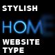 Stylish Website Type