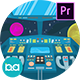 Cockpit Interior Animation | Premiere Pro MOGRT