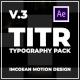 TITR   Dynamic Typography Pack