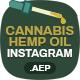 Cannabis Hemp Oil Products Instagram Sotires