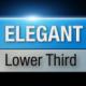 Elegant Lower Third