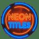 Neon Titles || Premiere Pro MOGRT