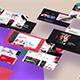 Stylish website promo