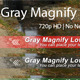Gray Magnify Lower Third