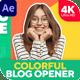 Colorful Blog Opener 2