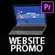 Super Dynamic Website Promo - Web Demo Premiere Pro