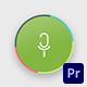 Voice Search Logo | For Premiere Pro