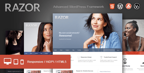 1 Banner Razor WP. large preview