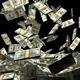 Money Stack - Dollars Falling