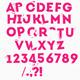 Crazy alphabet