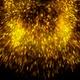 Golden Particles Explosion V7