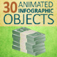 30 Animated Infographic Objects