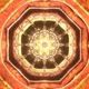 Meditate Energy Ethnic Folower Art With Sacred Geometry Digital Bright Trance Color