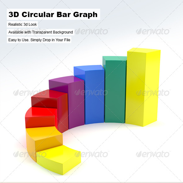 3d bar graph graphics