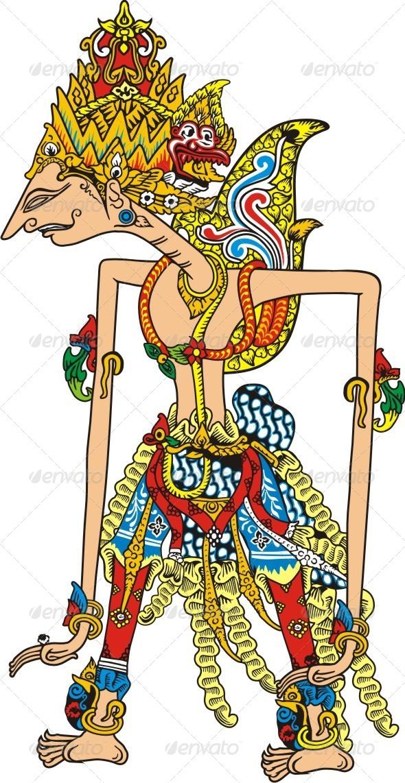 Wayang Rama Vector : wayang, vector, Wayang, Vector, Characters, GraphicRiver