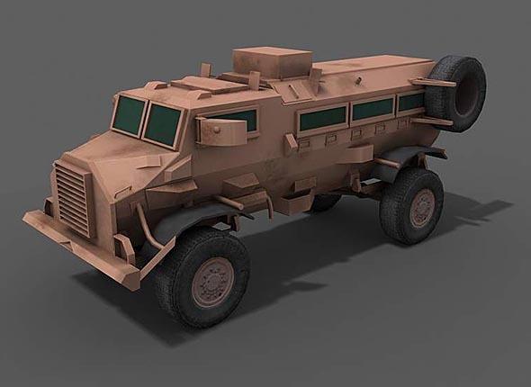 Casspir - Armored Personal Carrier APC