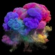 Colorful Smoke Explosion