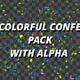 Confetti Colorful