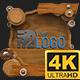 Wooden Logo 4K (Mograph)