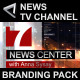Broadcast Design News TV Channel Branding Package
