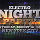 Electro Night Party