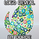 Falling Social Icons - Logo reveal