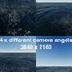 Ocean Background Angels